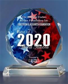 The Mathew Forbes Romer Foundation Inc Receives 2020 Best of Boca Raton Award